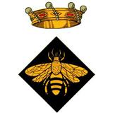 Escut Ajuntament d'Abella de la Conca.